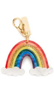 Edie Parker Rainbow Keychain