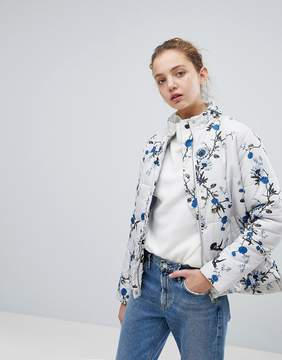 B.young Floral Printed Jacket