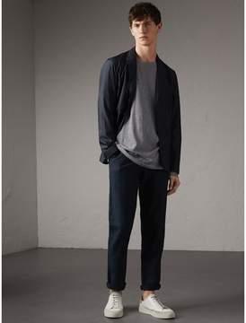 Burberry Silk Wool Workwear Jacket