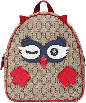 Gucci Children's owl backpack