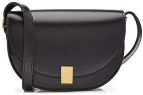 Victoria Beckham Nano Half Moon Box Leather Shoulder Bag