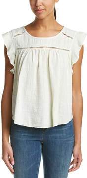 Anama Ruffle-Trim Top