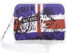 Burberry Printed Pouch - WHITE - STYLE
