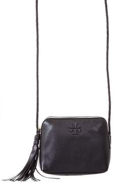 Tory Burch Leather Camera Bag - BLACK - STYLE