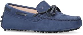 Tod's Gommini Suede Driving Shoes