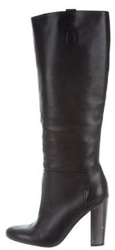 Sigerson Morrison Leather Knee-High Boots