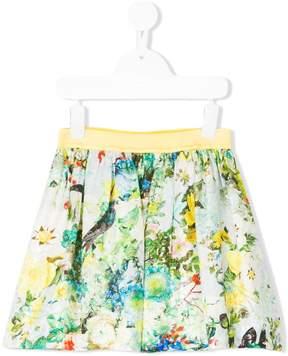 Roberto Cavalli floral print skirt