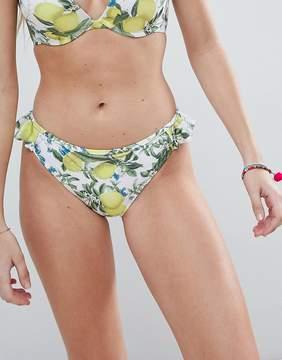 Dorina Lemon Bikini Bottom