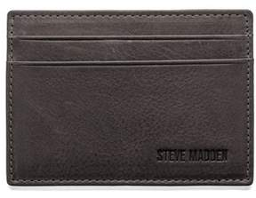 Steve Madden Mealu Leather Card Carrier.
