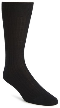 John W. Nordstrom Men's Ribbed Merino Wool Socks