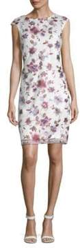 Donna Ricco Floral Embroidered Dress