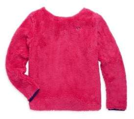Vineyard Vines Toddler's, Little, Girl's & Girl's Fuzzy Sweatshirt