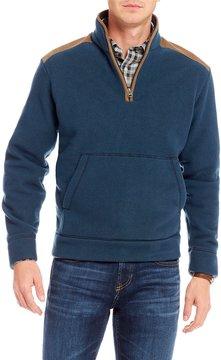 Daniel Cremieux Wool Blend Quarter-Zip Pullover