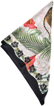 Gucci Floral Print Pocket Square