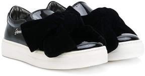 Simonetta bow detail sneakers