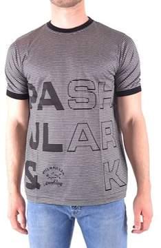 Paul & Shark Men's Grey Cotton T-shirt.