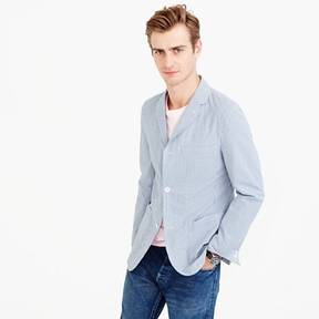 J.Crew Unstructured blazer in seersucker