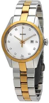 Rado Hyperchrome S Diamond Silver Dial Ladies Watch