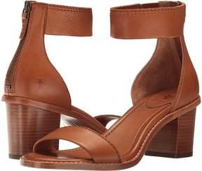 Frye Brielle Back Zip Women's Dress Sandals