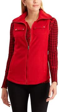 Chaps Women's Fleece Vest