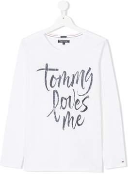 Tommy Hilfiger Junior Teen long sleeve T-shirt