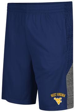 Colosseum Men's Campus Heritage West Virginia Mountaineers Friction Shorts