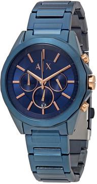 Armani Exchange Chronograph Blue Dial Men's Watch