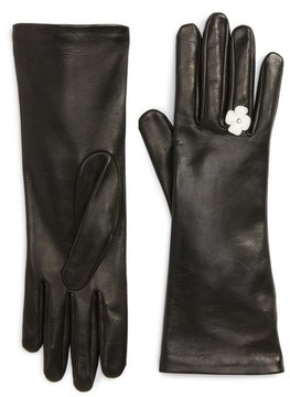 Agnelle Women's Lambskin Leather Gloves