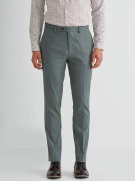 Frank and Oak The Laurier Twill Linen Trouser in Green