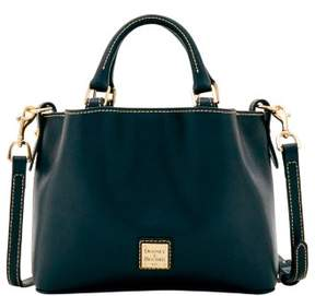 Dooney & Bourke Saffiano Mini Barlow Top Handle Bag - BLACK - STYLE