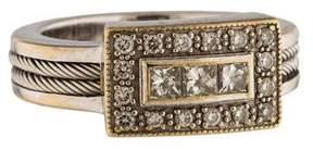Charriol 18K Diamond Cocktail Ring