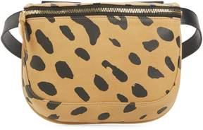 Clare Vivier Jaguar Print Leather Fanny Pack