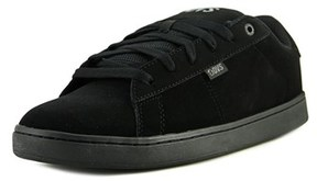 DVS Shoe Company Revival 2 Men Leather Black Fashion Sneakers.