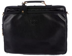 Loewe Leather Travel Briefcase