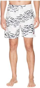 U.S. Polo Assn. School of Fish Swim Shorts Men's Swimwear