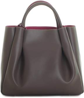 Alexandra de Curtis - Ashley Midi Ruched Tote Taupe