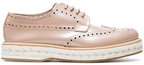 Church's Pink Tamsin Patent Leather Brogues
