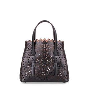 Alaia Black leather cut-out mini bag