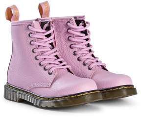 Dr. Martens Light Pink Delaney Boots