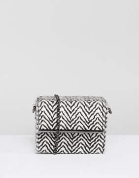 New Look Zebra Cross Body Bag
