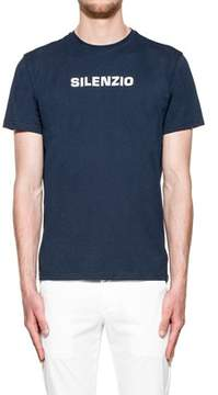 Aspesi Men's Blue Cotton T-shirt.