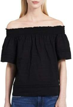 Calvin Klein Jeans Off-the-Shoulder Top