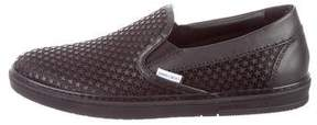 Jimmy Choo Grove Leather Sneakers w/ Tags
