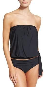 Athena Santorini Mid-Waist Swim Bottom, Plus Size