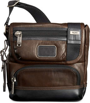 Tumi Alpha Bravo Barstow Leather Crossbody