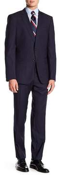 HUGO BOSS Genius Woven Notch Collar Flat Front Pants 2-Piece Suit