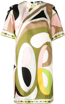 Emilio Pucci short sleeve printed dress