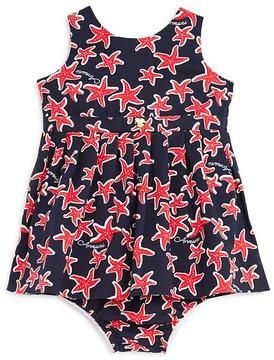 Armani Junior Girls' Starfish Dress with Bloomers - Baby