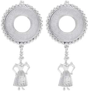 Emilia Wickstead Lucie ballerina-drop earrings