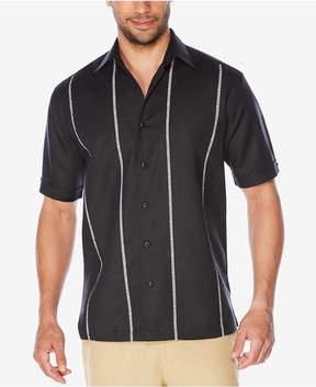 Cubavera Men's Double Inserts Linen Shirt